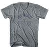 The Wedge Anchor Life on the Strand V-neck T-shirt in Athletic Grey by Life On the Strand