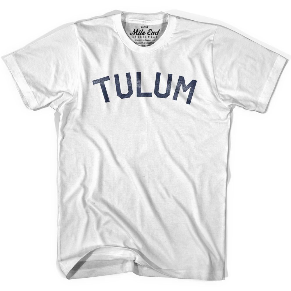 Tulum City Vintage T-shirt in Grey Heather by Mile End Sportswear