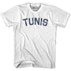 Tunis City Vintage T-shirt in Grey Heather by Mile End Sportswear