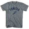 Tunisia Track T-shirt in Athletic Grey by Mile End Sportswear