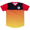 Uganda Rise Soccer Jersey in Black by Ultras