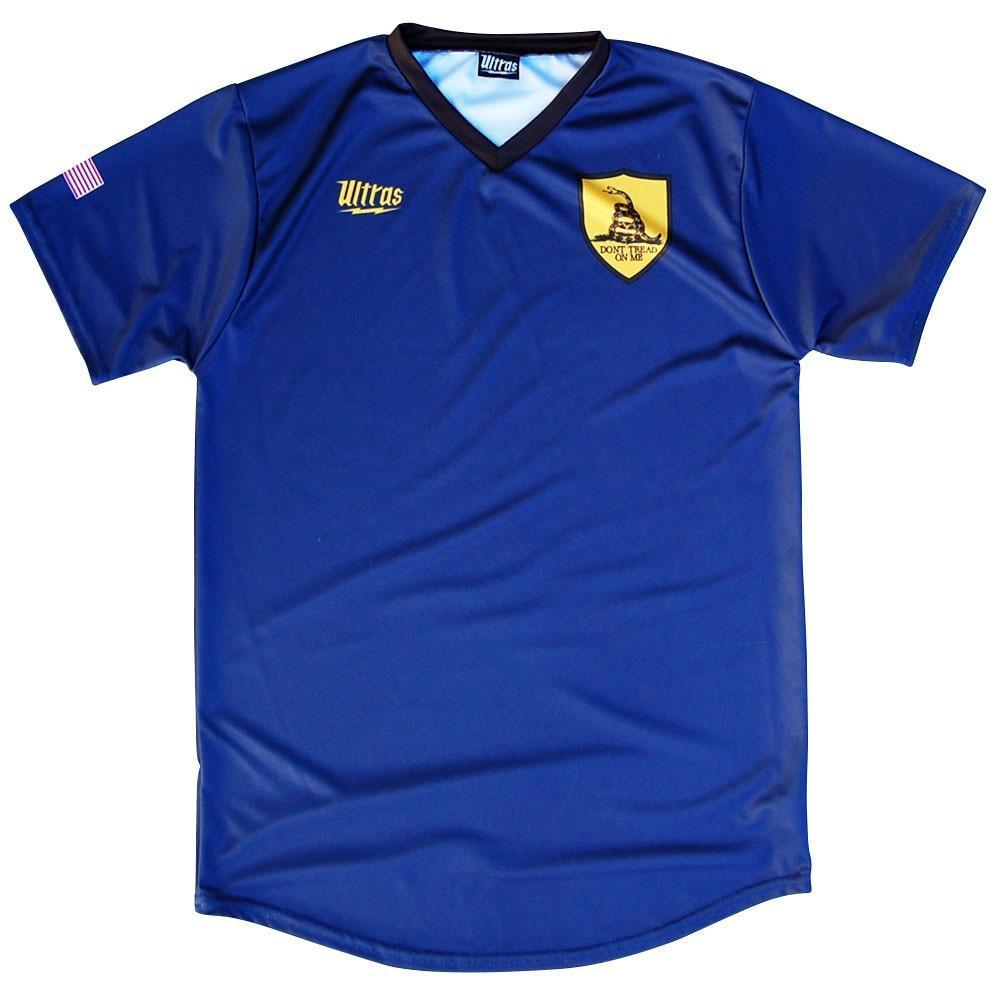 Ultras Dont Tread On Me Soccer Jersey in Navy by Ultras