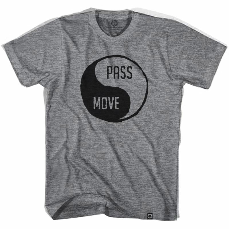 Pass and Move Soccer T-shirt in Athletic Grey by Ultras