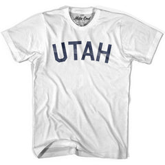 Utah Union Vintage T-shirt in Grey Heather by Mile End Sportswear