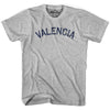Valencia City Vintage T-shirt in Grey Heather by Mile End Sportswear