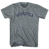 Venezula City Vintage T-shirt in Athletic Blue by Mile End Sportswear