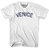 Venice City Vintage T-shirt in Grey Heather by Mile End Sportswear