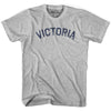 Victoria City Vintage T-shirt in Grey Heather by Mile End Sportswear