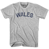 Wales City Vintage T-shirt in Grey Heather by Mile End Sportswear