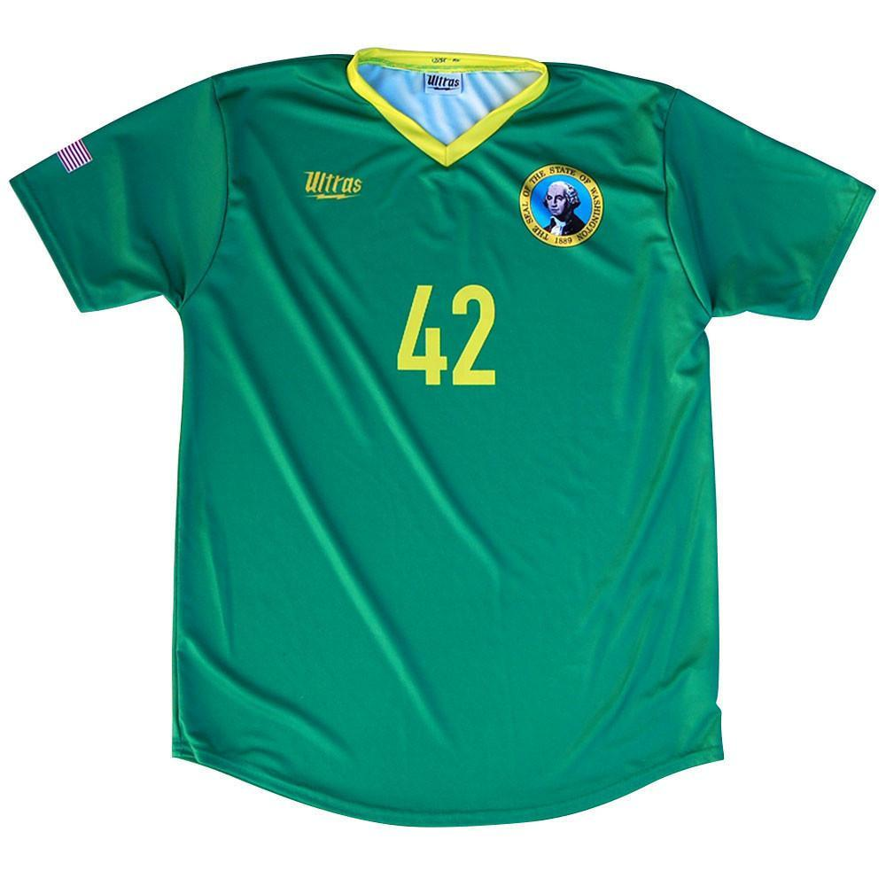 Washington State Cup Soccer Jersey in Green by Ultras