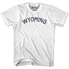 Wyoming Union Vintage T-shirt in Grey Heather by Mile End Sportswear