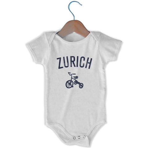 Zurich City Tricycle Infant Onesie