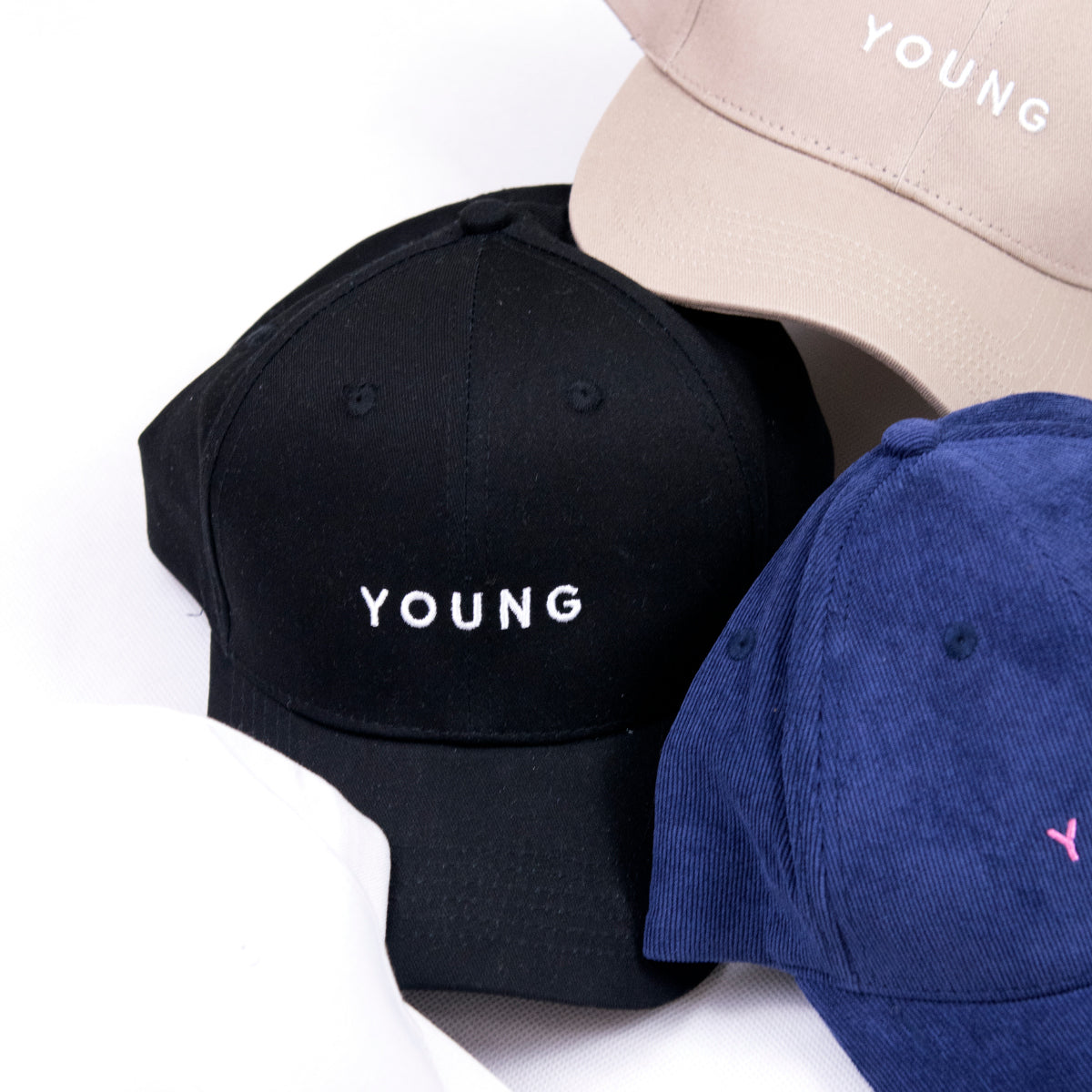 Young Baseball Cap (Black)