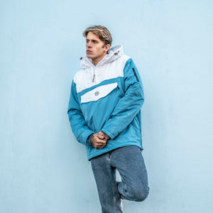 Quayside Jacket (Blue/White)