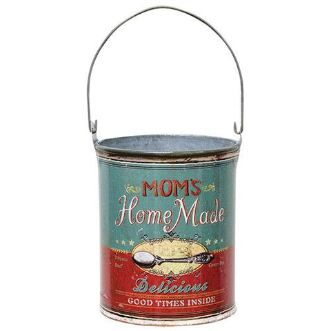Mom's Homemade Antique Style Soup Can