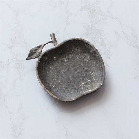 Apple Decorative Cast Iron Dish