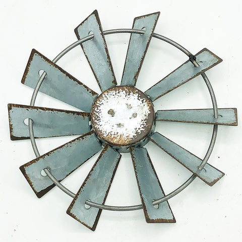 "Metal Mini 4"" Windmill for crafts"