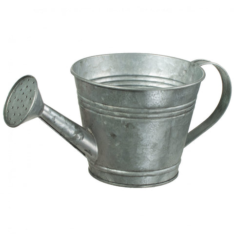 "Galvanized Watering Can - 4.5"" tall"