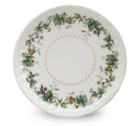 The Berry Patch Salad Dessert Plate Porcelain from Burton & Burton