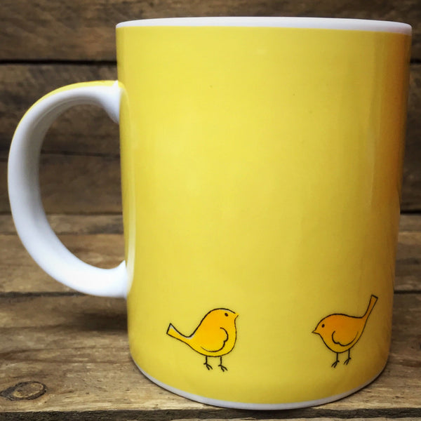 Share Blessings Coffee Mug birds and harvest design