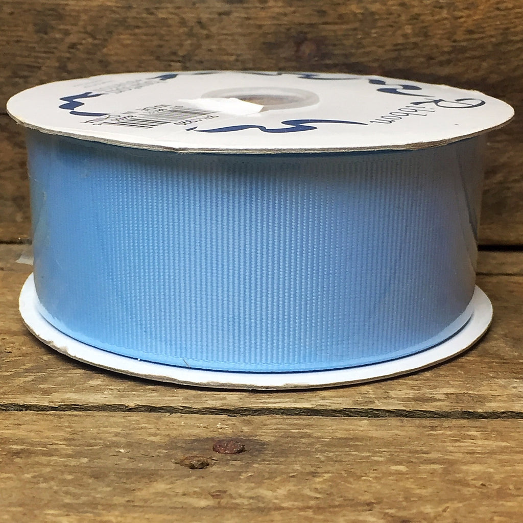 #9 Light Blue Grosgrain Ribbon