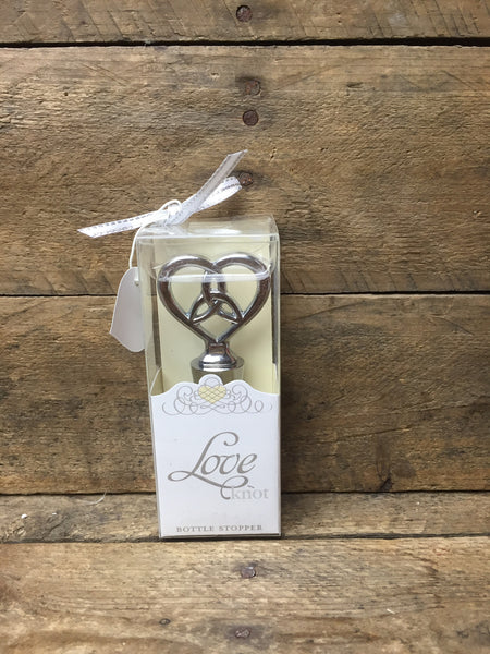 Weddingstar The Love Knot Bottle Stopper
