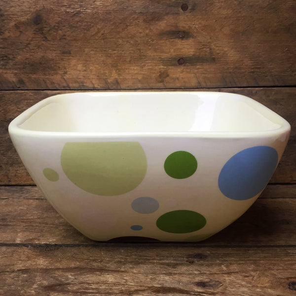 Plain Jane Chocolat Candy Bowl polka dots