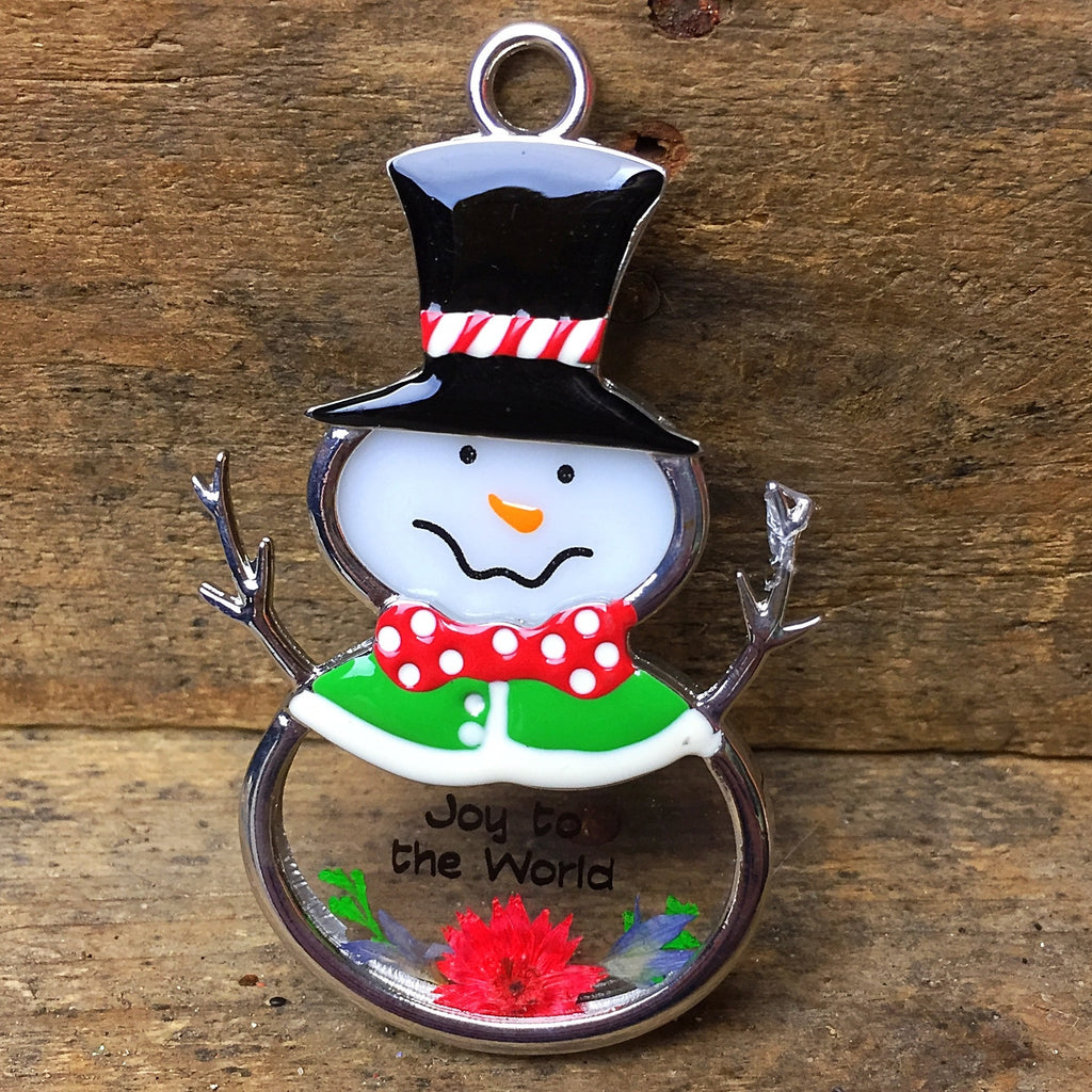 Ganz Snowman Ornament - Joy to the World