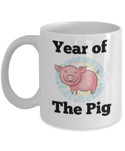 Chinese Zodiac Mug - Year of the Pig - 11 oz Gift Mug