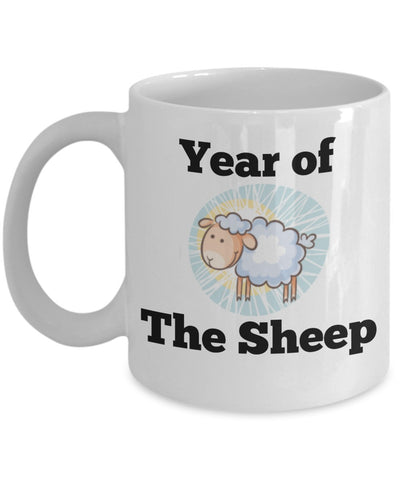 Chinese Zodiac Mug - Year of the Sheep - 11 oz Gift Mug