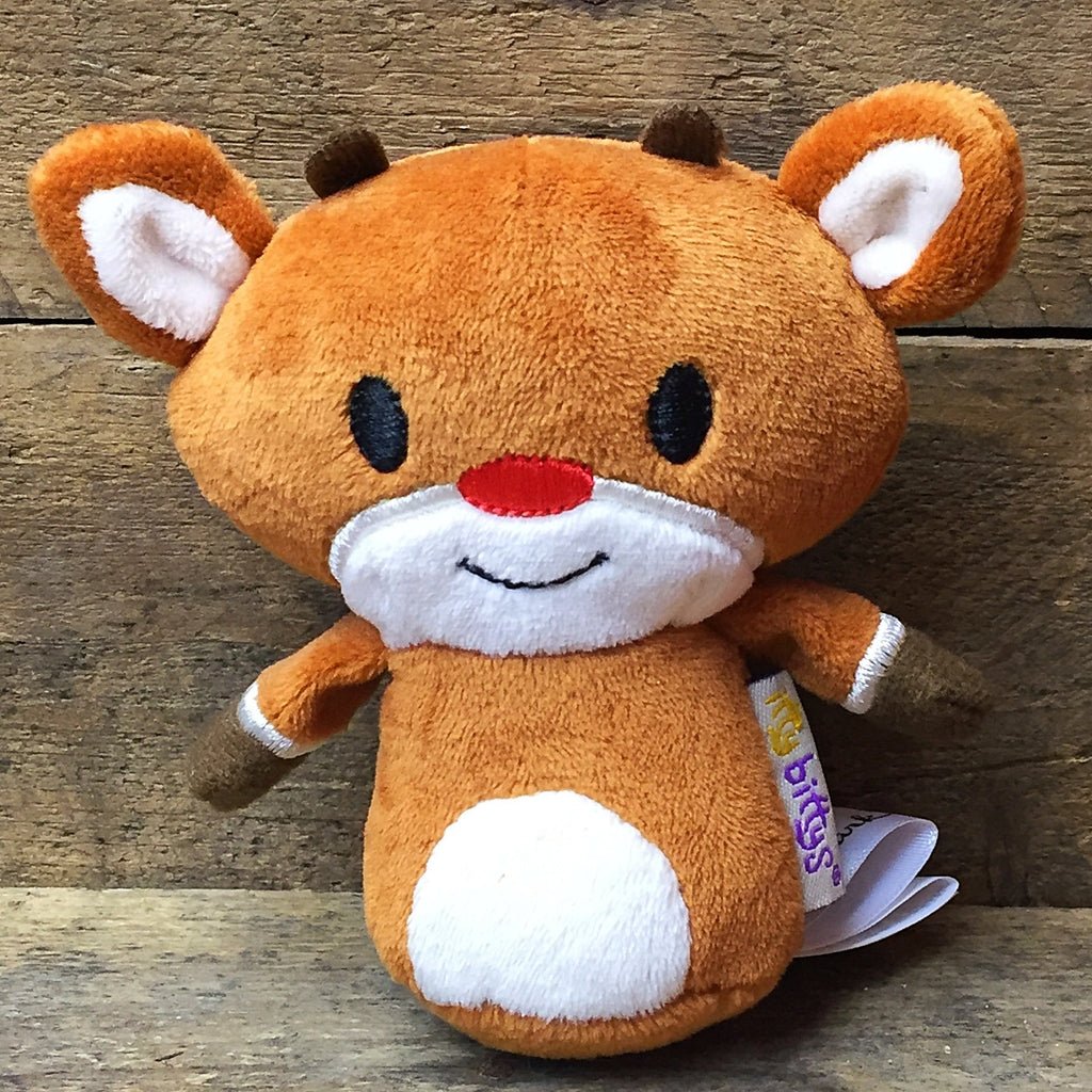 Hallmark Itty Bittys Rudolph the Red Nosed Reindeer plush