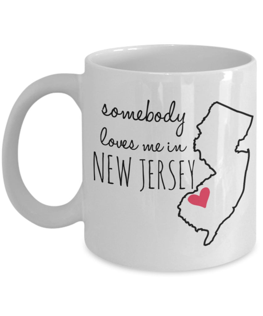 Personalized Mug - Somebody Loves Me in ________ (Choose Your State) - 11 oz Gift Mug