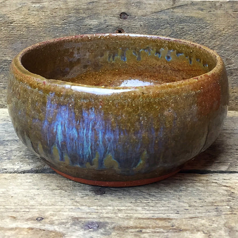 Earthen Colored Pottery Dip Bowl 1996