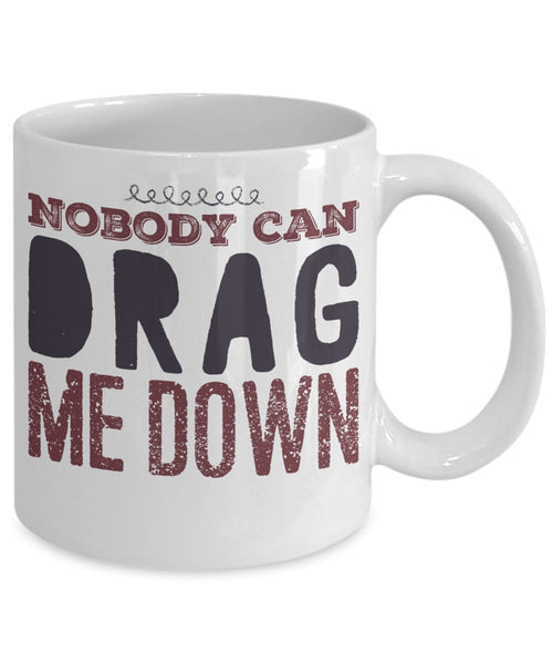 One Direction Mug - Nobody Can Drag Me Down - 11 oz Gift Mug