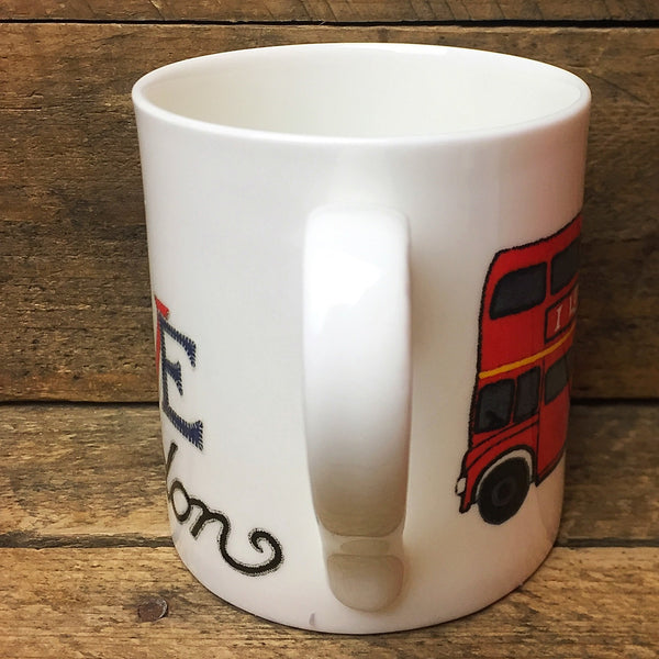 I Love London Mug - McLaggan Smith Mugs, Scotland