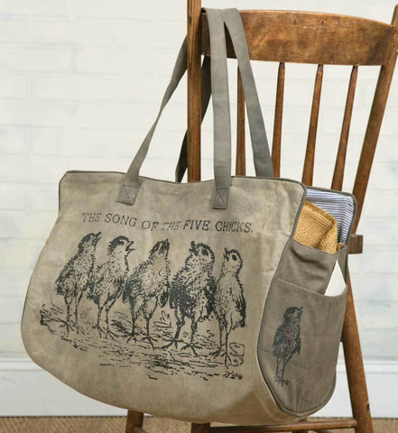 Retro Chicks Weekender Bag - fun tote bag