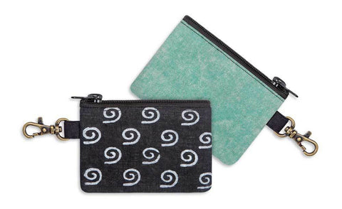 Cellini Spiral Block Printed Coin Purse