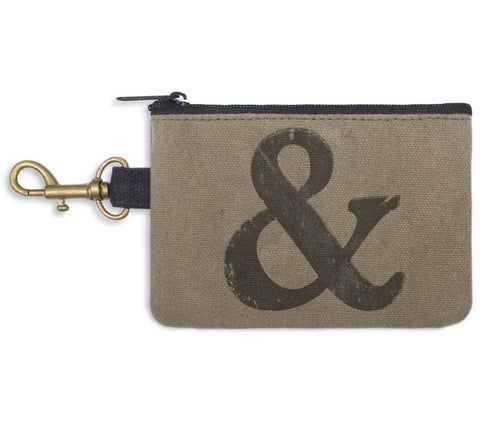 Ampersand Coin Purse - Relaxed Retro Style