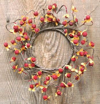 "Bittersweet Faux 12"" Wreath"