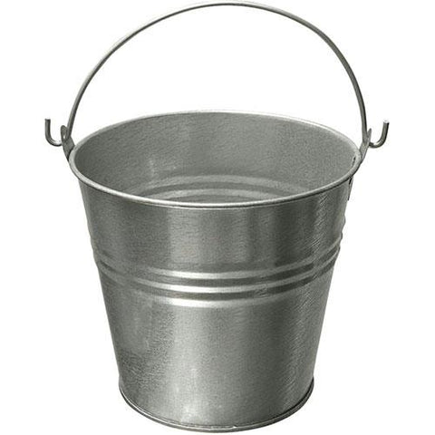 "Small Tin Pail 4"" high"