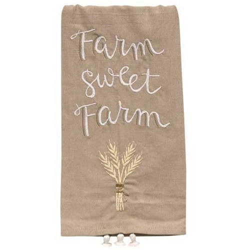 Farm Sweet Farm Dish Towel