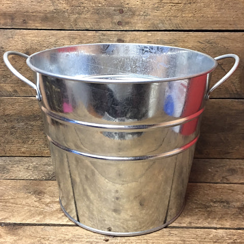 "Galvanized Tin 6"" Bucket"