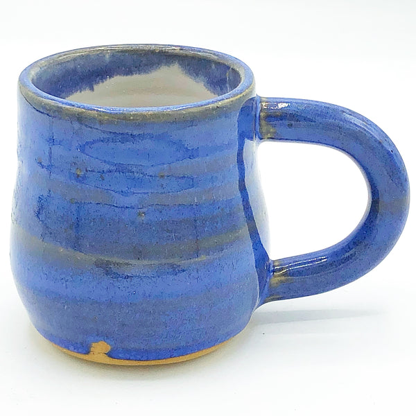 Handcrafted Little Blue Pottery Mug