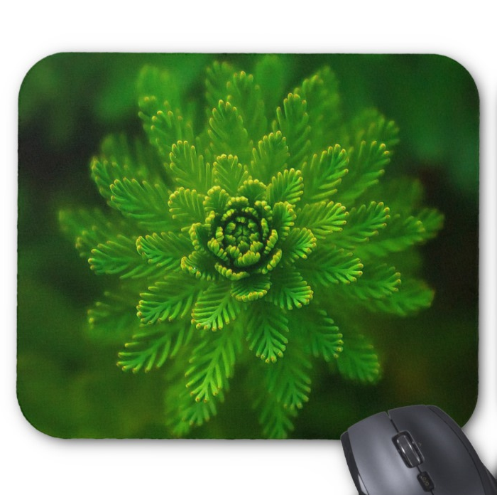 Nature Photo Mousepad - Green Foliage - Mouse Pad