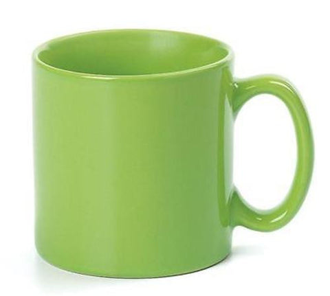 Apple Green 12oz Ceramic Mug