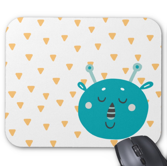 Monster Mousepad - Peaceful Monster - Mouse Pad