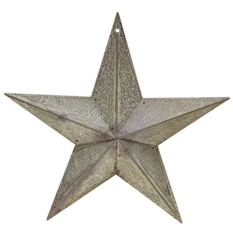 "Galvanized Metal 8"" Small Barn Star"