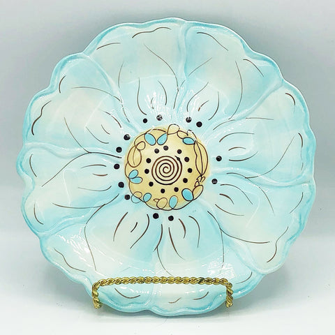 Cassidy Blue Flower Pier 1 Imports Salad Plate