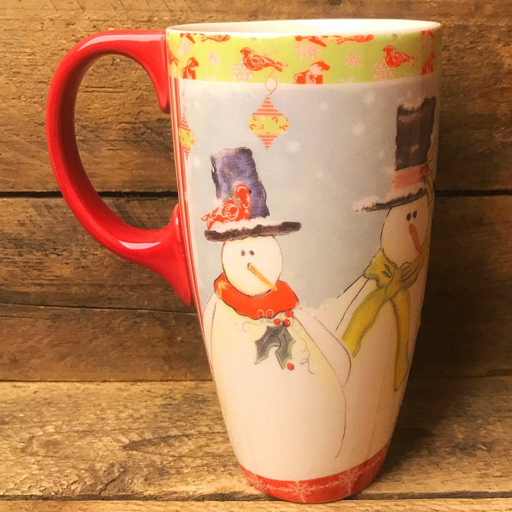 Lang Home for the Holidays Tall Snowman Mug