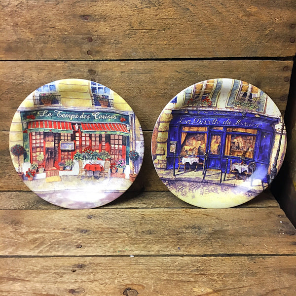 Set of 3 Cider House French Restaurants Dessert Plates